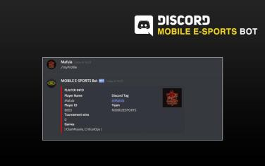 MOBILE E-SPORTS Bot – A Simpler Way To Manage Your Team